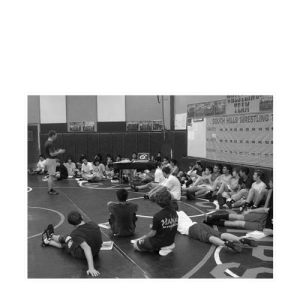 Clinic Photo Wrestling Coach Mike Clayton from Session 6 Wrestling, Clinics, Training